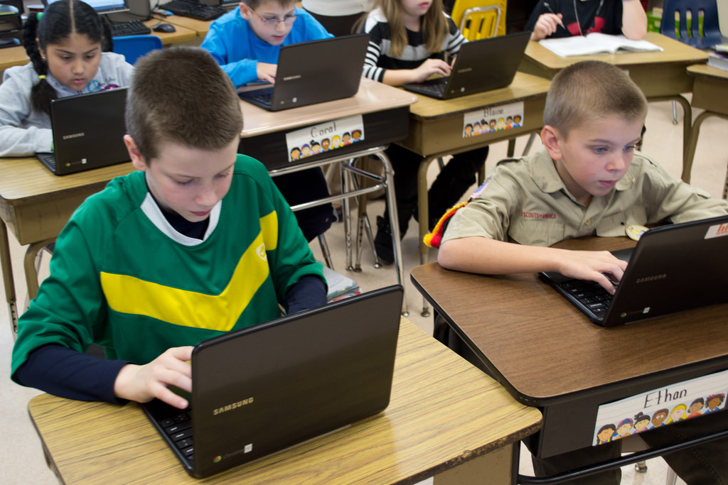 Chromebooks in action