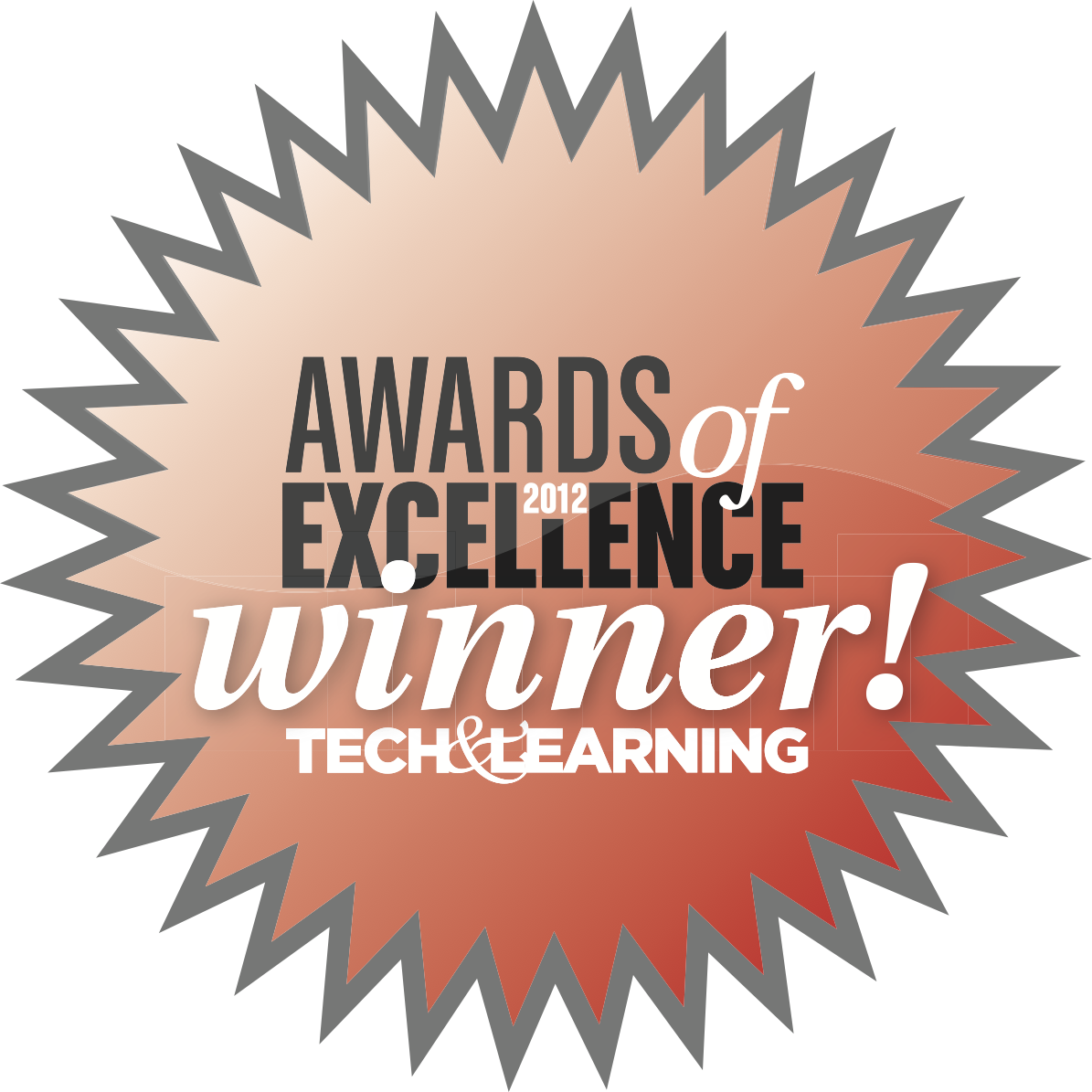 Award of Excellence Winner Logo