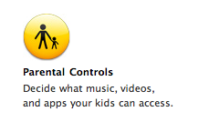Apple parental controls image