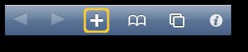 Add Bookmarks Toolbar Icon