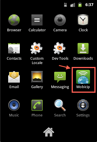 Mobicip Android Home Icon