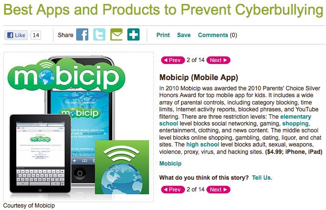 Parents.com Mobicip Best App