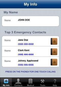 iEmergency app 2